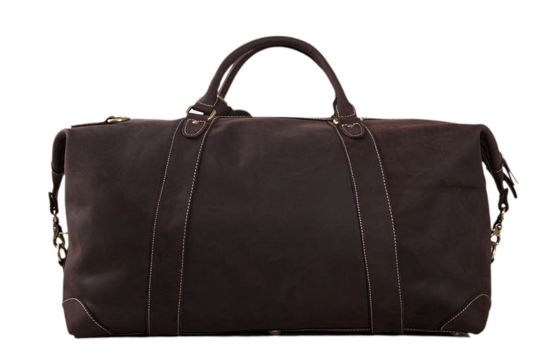 Indianapolis Calfskin Leather Weekender