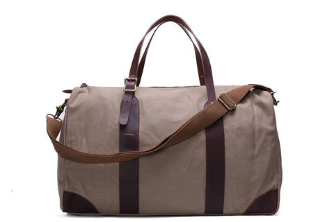 Waxed Canvas Gym & Travel Bag
