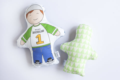 Zakariah Cushion Doll