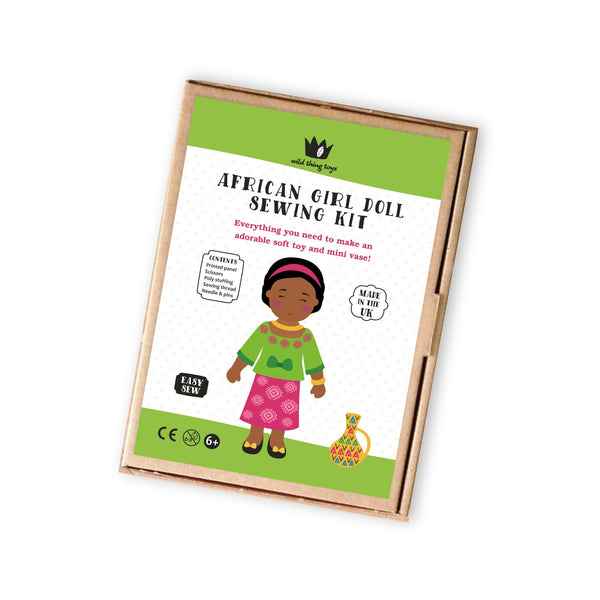 African Doll Sewing Kit