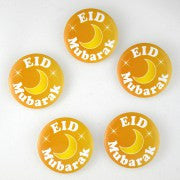 Eid Mubarak Badge (5 Pack)