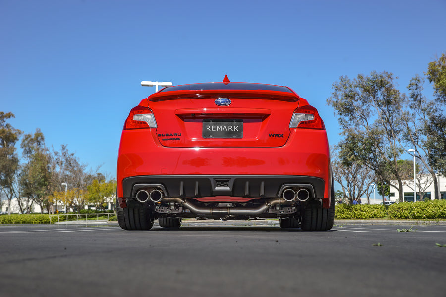 Already loving our Axleback Muffler Delete on your 2015+ WRX/STI?