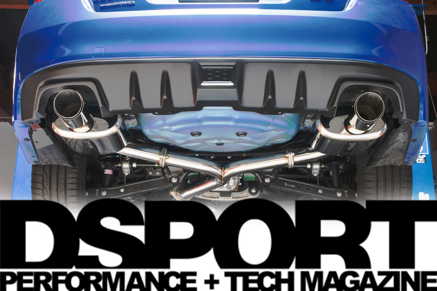 Subaru Impreza WRX STI 2015+ REMARK Cat-back exhaust: By DSPORT