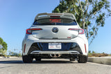 Catback Exhaust System for Toyota Corolla Hatchback 2018+