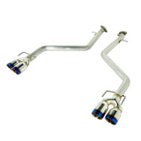 Axleback for Lexus IS200T / IS300 / IS350 (RWB & AWD) '17+