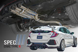 Catback Exhaust for Honda Civic Type R FK8 Spec-III (2017+)