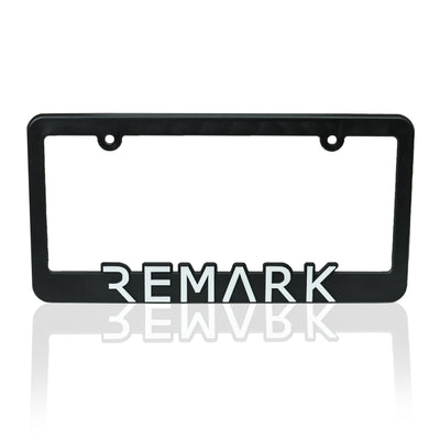 REMARK License Plate Frame