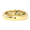 Pave Ring in 10k gold - Lunar bouquet-