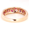 Pave Ring in 18k gold - Rose bouquet-