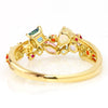 Coffret Ring in 18k gold -Pastel-