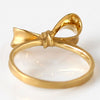 Ribbon Bow Ring in 18k gold -Petit Rubandor-
