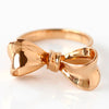 Ribbon Bow Ring in 18k gold -Rubandor-