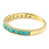Turquoise ring in 18k gold -Alexia-
