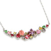 Coffret Necklace in 18k gold -Pink-