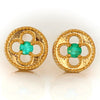 Paraiba Tourmaline earrings in 18k gold -Alham-