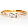 Diamond Ring in 18k gold -Flavie-