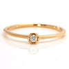 Diamond Ring in 18k gold -Anne-