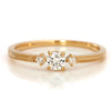 Diamond Ring in 18k gold -Lucile-