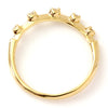 Diamond Ring in 18k gold -Meteore-
