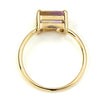Ametrine ring in 18k gold -Serum-