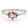 Ametrine ring in 18k gold -Brigitte-