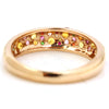 Pave Ring in 18k gold - Mimosa bouquet-