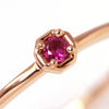 Ruby ring in 18k gold -Anne-