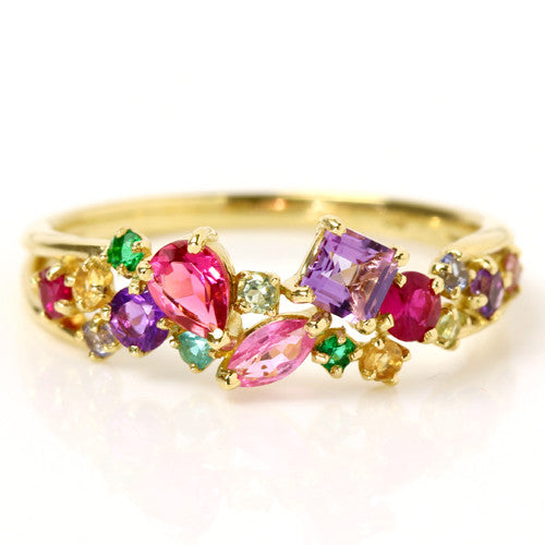 No.3 Coffret Ring in 18k gold -Panache-