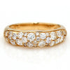 Pave Ring in 18k gold -Lumiere Bouquet-
