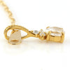 Diamond necklace in 18k gold -Flavie-