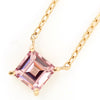 Champagne Garnet necklace in 18k gold -Serum-