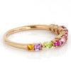 Parfumee ring in 18k gold -Pink-