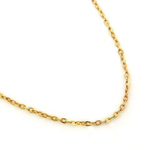 Gold Chain Necklace in 18k gold