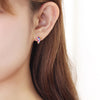 Pave Earrings in 18k gold -Panache-