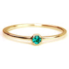 Paraiba Tourmaline ring in 18k gold -Anne-