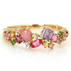 Coffret Ring in 18k gold -Pink-