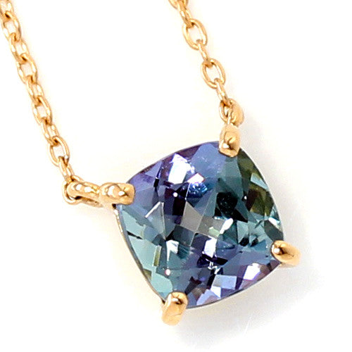 Tanzanite necklace in 18k gold -Serum-