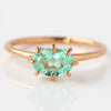 Mint Green Beryl ring in 18k gold -Cepage-