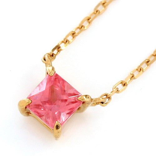 Rhodochrosite necklace in 18k gold -Serum-