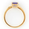 Tanzanite ring in 18k gold -Serum-