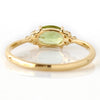 Peridot ring in 18k gold -Flavie-