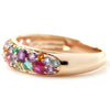Pave Ring in 18k gold - Panache bouquet-