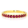 Ruby ring in 18k gold -Emma-
