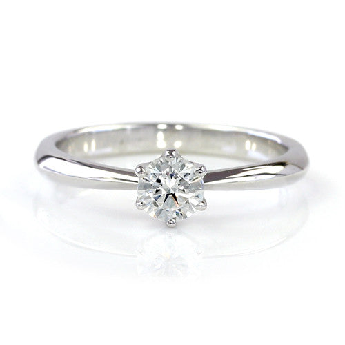 Engagement Ring in Platinum 900 -Solitaire-