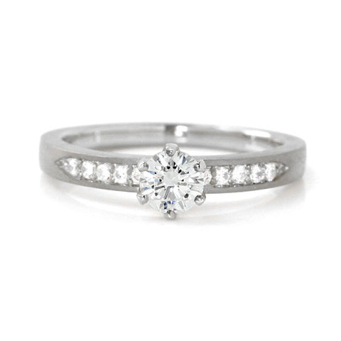 Engagement Ring in Platinum 900 -Eternity-