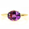 No.4 Amethyst ring in 18k gold -Cepage-