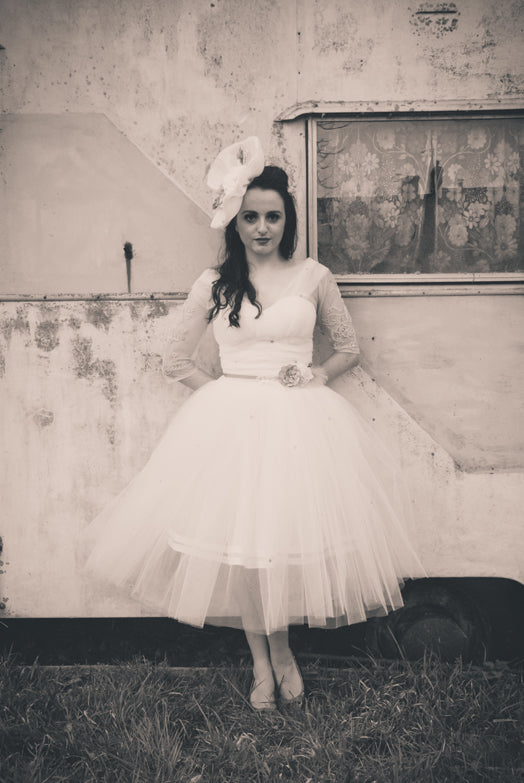 Alexandra King Louisa wedding tulle dress