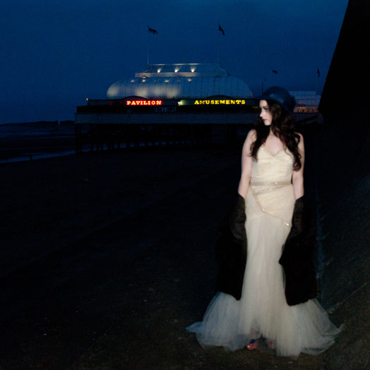 Alexandra King designer tulle dress photographed by Laura Power