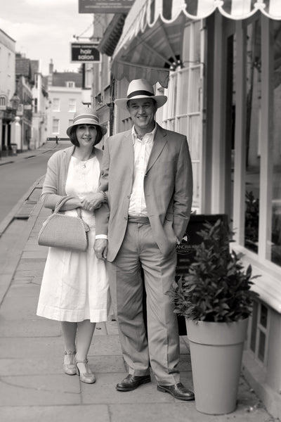 Street Style Wells 1920s couple