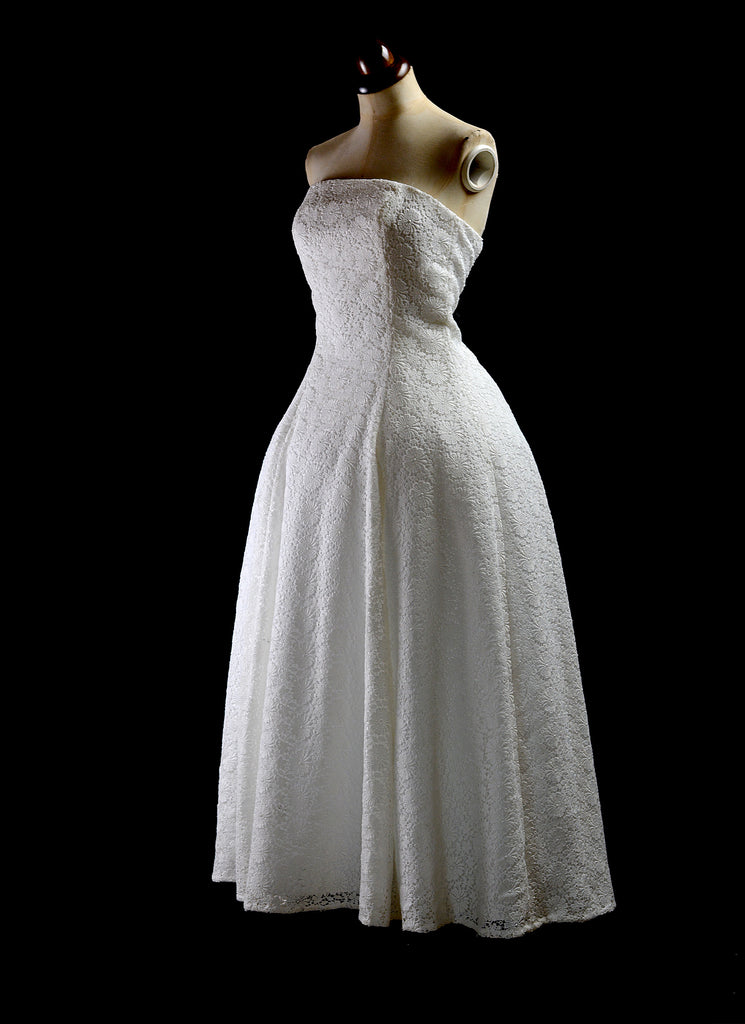 alexandra king lace bandeau wedding dress